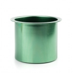 Casino Supply Colored Aluminum Jumbo Drop in Drink Holders: Green