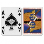 Casino Supply Hardrock Cancelled Casino Playing Cards: Red