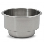 Casino Supply Stainless Steel Dual Size Drop In Drink Holder