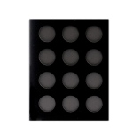 Casino Supply Black Velvet Poker Chip Display Boards: 12 Chips